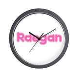 """Raegan"" Wall Clock"