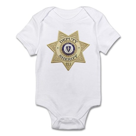 Massachusetts Deputy Sheriff Infant Bodysuit