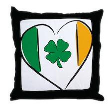 Love Ireland Throw Pillow