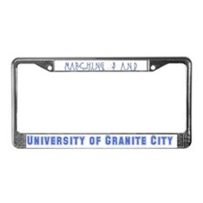 Marching Oops! License Plate Frame