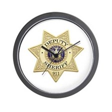 New York Deputy Sheriff Wall Clock