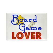 Board Game Lover Rectangle Magnet (100 pack)