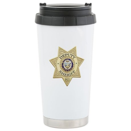 Oregon Deputy Sheriff Ceramic Travel Mug