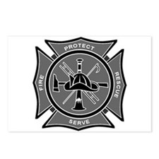 Firefighter Maltese Cross Postcards (Package of 8)