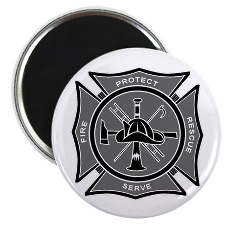 Firefighter Maltese Cross Magnet