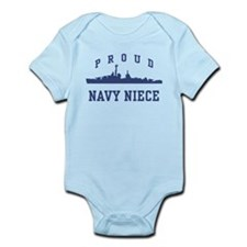 Proud Navy Niece Infant Bodysuit