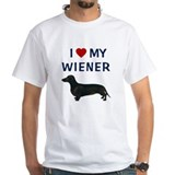 I (HEART) MY WIENER Shirt