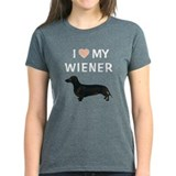 I (HEART) MY WIENER Tee