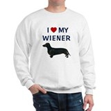 I (HEART) MY WIENER Sweater
