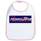 Vote for Pedro - blue Bib
