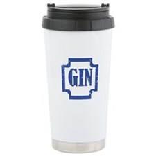 Gin Ceramic Travel Mug