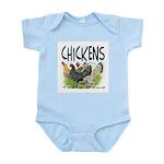Chickens Taste Good! Infant Bodysuit