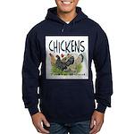Chickens Taste Good! Hoodie (dark)