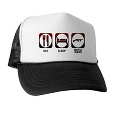 Eat Sleep Mafia Trucker Hat