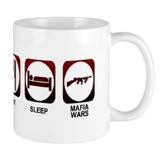 Eat Sleep Mafia Mug