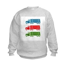 Log Trucks - Boys Sweatshirt