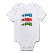 Log Trucks - Boys Infant Bodysuit