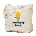 Neurosurgery Chick Tote Bag
