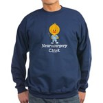Neurosurgery Chick Sweatshirt (dark)