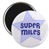 "Super Miles 2.25"" Magnet (10 pack)"