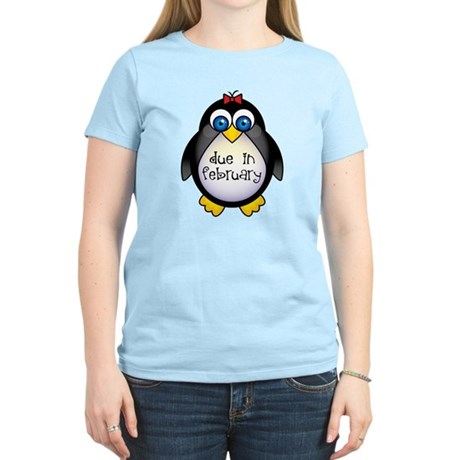 February Penguin Maternity Women's Light T-Shirt