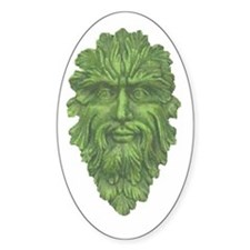 GREENMAN Oval Decal