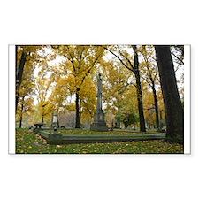 Golden Canopy Rectangle Sticker 50 pk)