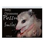 Possum Wall Calendar