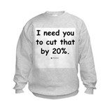 Cut by 20% -  Sweatshirt