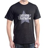 Super Mathew Black T-Shirt