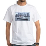 QE2 New York Final Departure Shirt
