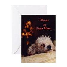 Visions Of Sugar Plums - Greeting Card