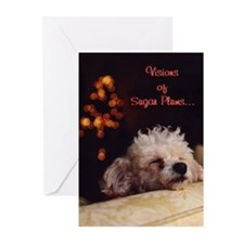 Visions Of Sugar Plums - Greeting Cards (Pk of 10)