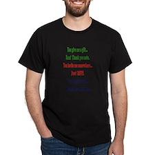 Do Not Test My Politeness T-Shirt