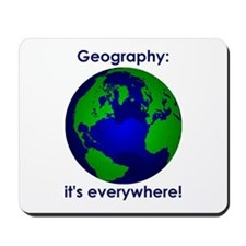 Geography Mousepad