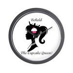 Cupcake Queen Wall Clock