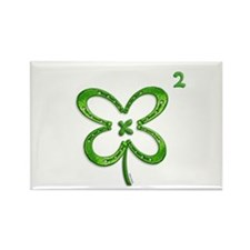 Lucky Squared Rectangle Magnet (100 pack)