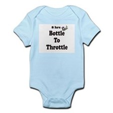 8hrs Bottle To Throttle Infant Bodysuit