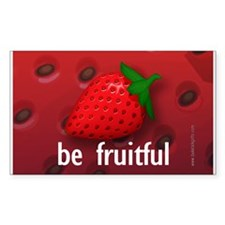 Be Fruitful... Rectangle Sticker 10 pk)