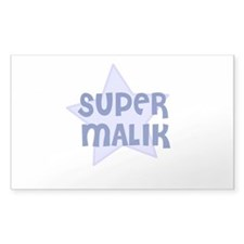 Super Malik Rectangle Decal