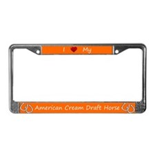 Orange I Love My American Cream Draft Horse