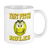 Fast pitch Mug