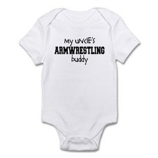Uncle's Armwrestling Buddy Infant Bodysuit