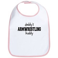 Daddy's Armwrestling Buddy Bib