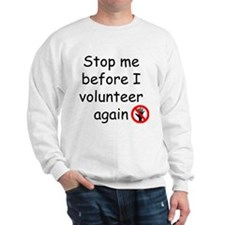 Cute Volunteers Sweatshirt