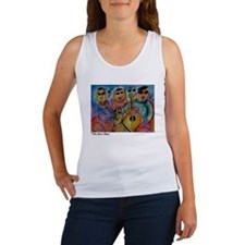 Jazz Band, Bright, colorful, Women's Tank Top