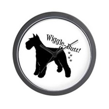 Cute Giant schnauzer Wall Clock
