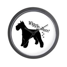 Unique Giant schnauzer Wall Clock
