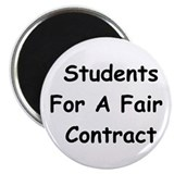 Students For A Fair Contract Magnet