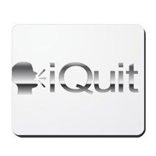 iQuit (Chrome) Mousepad